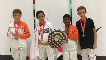 ZFW's David Sosnov was crowned England under-11 champion