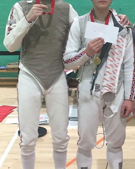 Matthew Abrahams won silver at the Chichester Open