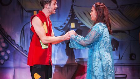 Aladdin has gone down as the Maria Theatre's most successful pantomime to date. Picture: Pamela Rait