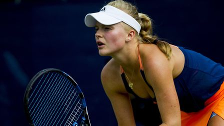 West Hampstead's Harriet Dart reached the semi-finals of the Surbiton Trophy (pic LTA)