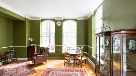 Redhill Place was modernised by Iba�ez Kim just over a decade ago and is furnished in warm, mossy to