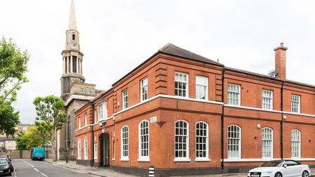 Redhill Place is the former workshop of defunct French car manufacturers Vinot-Deguingand