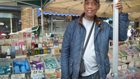 Trevor Tapper at Hoxton Market: 'Nowadays there is no young blood.' Picture: Polly Hancock