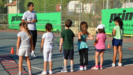 The Freddie Krivine Foundation has been teaching tennis to Jewish and Arab children in Israel for ov