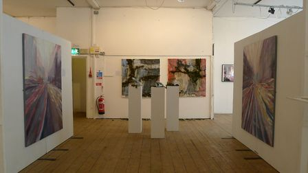 The first annual Highgate School art exhibition for GCSE and pre-university students at the Candid A
