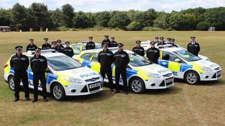 The Scorpion/Drug Team was launched by Suffolk Police in 2015. Picture: Suffolk Constabulary