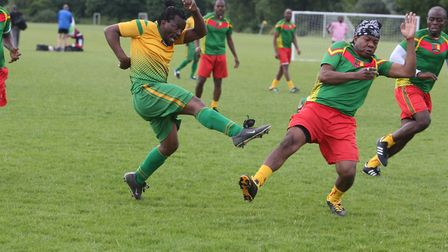 The Inner City World Cup was held on Hackney Marshes