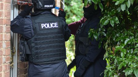 The team specialises in tackling drug crime across the region. Picture: Suffolk Constabulary