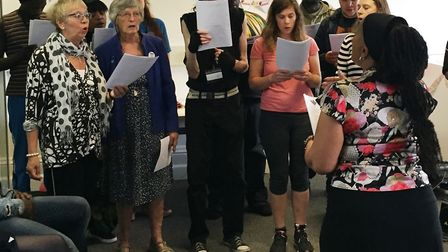 Camden and Islington NHS Foundation Trust�s community choir is celebrating after being chosen to per