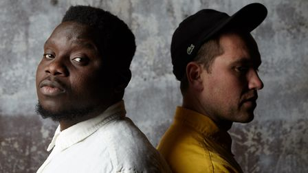 Hackney band Equals: Ade Omotayo and James Low