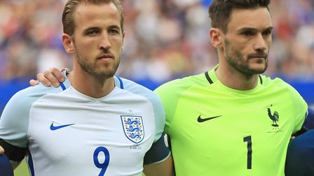 Tottenham Hotspur team-mates Harry Kane and Hugo Lloris did battle on Tuesday, as France hosted Engl