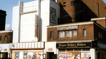 The derelict cinema in September 1984. Picture: Amir Dotan