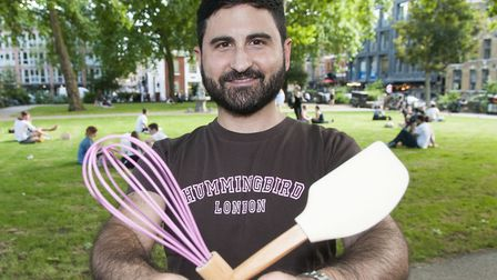 Who's Who: Tarek Malouf who founded the Hummingbird Bakery chain. Picture: Nigel Sutton