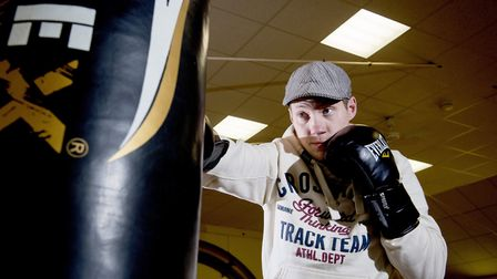 Former soldier Adam Ward has overcome PTSD and depression through boxing and is now helping others.P