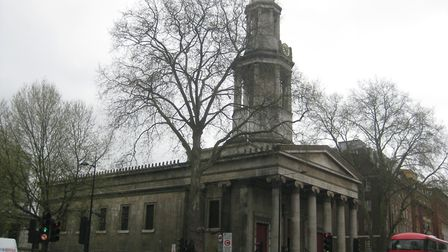 St Pancras Church which was built in 1822 in a Greek Revival style has won the Sir John Betjeman awa