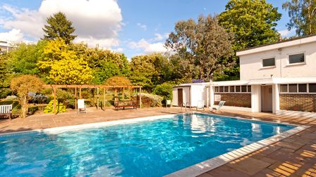 The swimming pool at Highpoint I has a relaxed vibe like something out of a1960s Hollywood rom-com