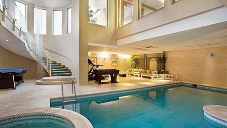 The Pavillions is the only property on our list with both an indoor and outdoor swimming pool for re