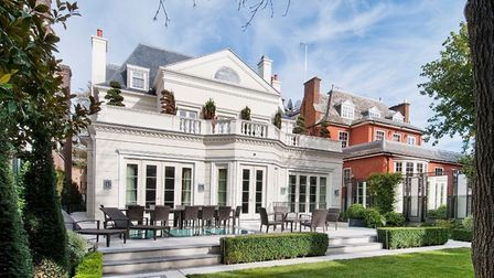 The �20,000 a week house on Avenue Road in St John's Wood is fit for champions