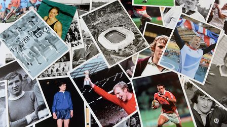 Guests can take a look at sporting memorabilia from years gone by. Picture: REPLAY SPORTING MEMORIES