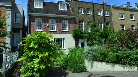 Homes with gardens already command a premium in north London. North Road, Highgate. Photo: Polly Han