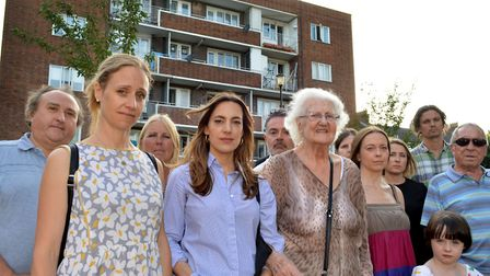 Neighbours on the Parkside Estate have been campaigning against the use of external wall insulation