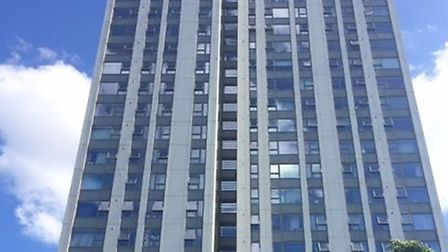 The Chalcots estate contains five nearly identical high rise blocks.