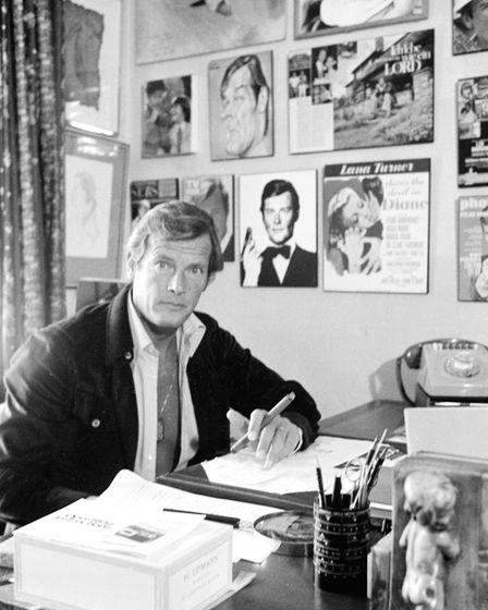 British actor Sir Roger Moore. Picture: Terrence Spencer/Camera Press