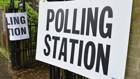 A police officer will be station outside every polling station in the borough. Picture: POLLY HANCOC