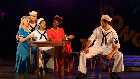 On The Town at Regent's Park Open Air Theatre. Picture: Jane Hobson