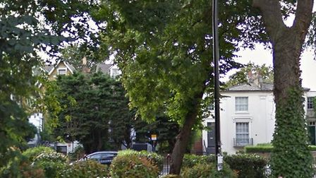 The rape took place in Camden Gardens late on Sunday night. Picture: GOOGLE
