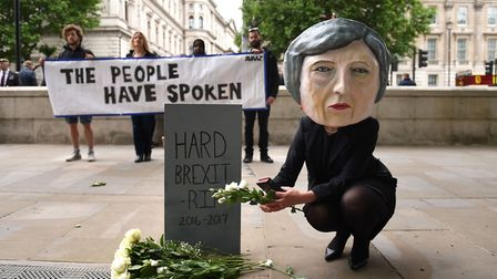 Theresa May's decision to hold a snap election disastrously backfired resulting in a hung Parliament