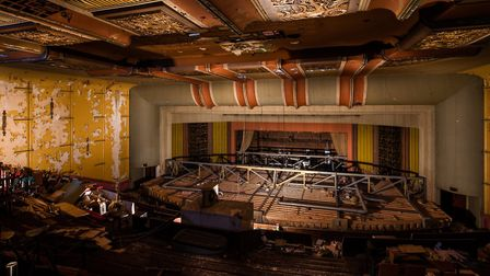 The Art Deco theatre is now derelict but Auro hopes to change that.
