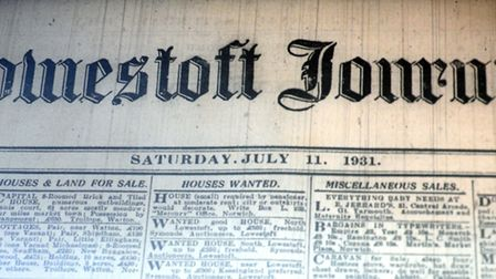 Some of the historic records housed at Lowestoft Record Office. Picture: Archant library.