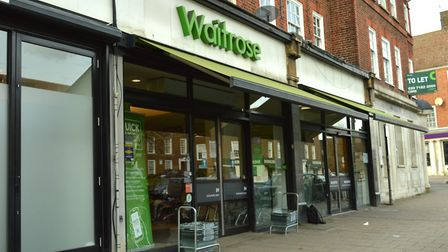 There's a Waitrose in Temple Fortune, but if you're spending millions on your house wouldn't you jus