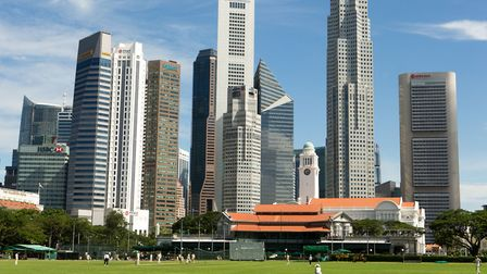 Singapore is popular with expats who take up residence in the city-state's own version of Hampstead