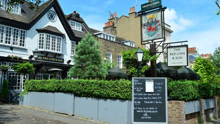 Whittaker recommends the Bloody Mary's at the Red Lion & Sun in Highgate