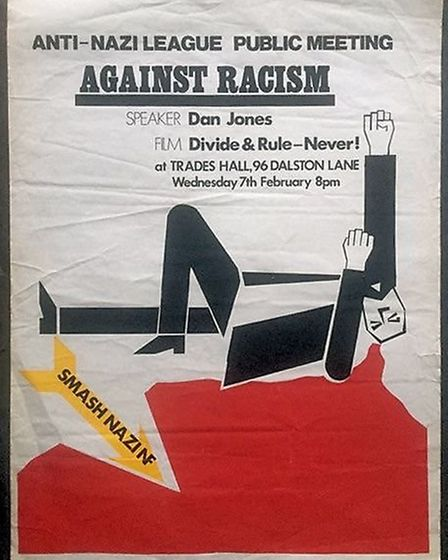 A poster shown in the exhibition, courtesy of Neil Martinson