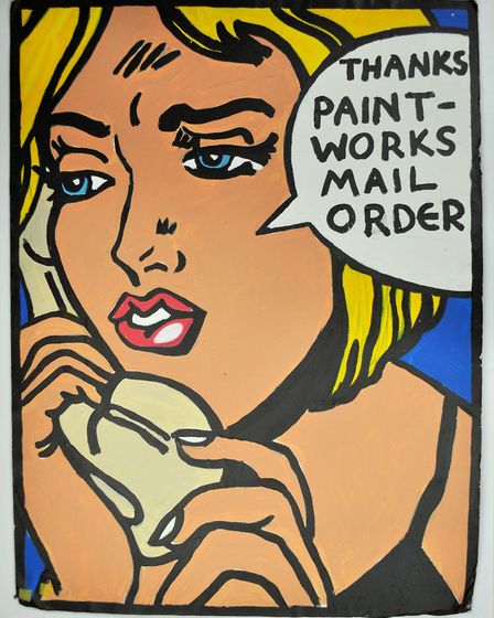 A Warhol print, courtesy of Hackney Museum