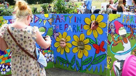 The Party in the Park, in De Beauvoir Square. Photo: Paul Bolding