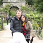 Nazanin and Richard Ratcliffe on their first holiday with baby Gabriella.