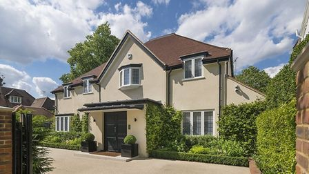 West Heath Avenue is a favourite for footballers for its great location and good security