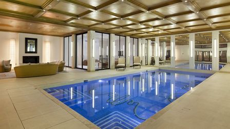The �13.75 million house in NW11 has a fabulous swimming pool