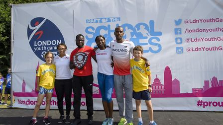 Haringey won the Schools Shield at the London Youth Games finals