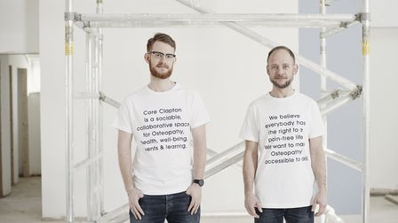 CORE founders Duncan Webster (left) and Danny Orchard