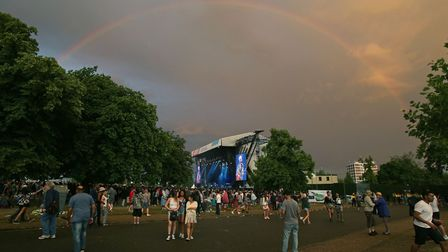 A file image of Wireless Festival in Finsbury Park, taken in 2014. Thousands enjoy the event each ye