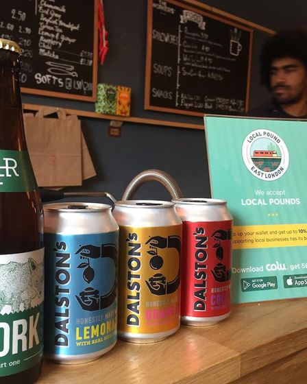 Dalston Cola is using the currency. Picture: Colu