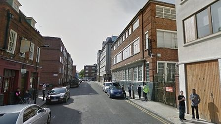 The attack happened in Orsman Road, Haggerston. Picture: Google StreetView
