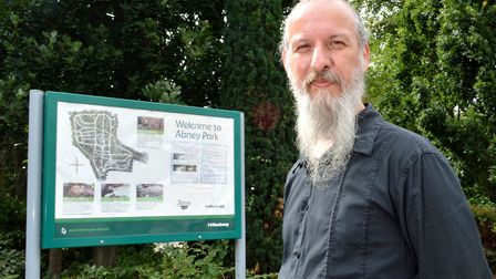 Abney Park Trust office manager and tour guide John Baldock. Picture: Polly Hancock
