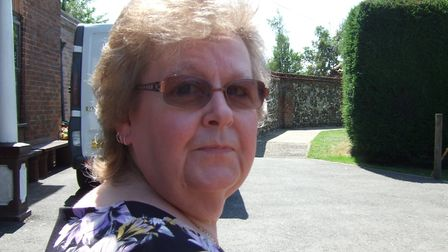 """The family of Sharon Wright have paid tribute to a """"lovely, caring person"""". Picture: Suffolk Police"""