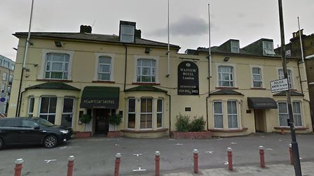 The Majestic Hotel in Seven Sisters Road. Picture: Google Maps